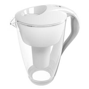 Vattenrenare glas vit, 2 L
