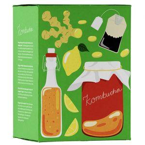 Det Lilla Köksbryggeriet Kombucha-kit – Ett komplett ekologiskt hembryggningskit
