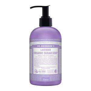 Sugar Soap Lavender, 355ml ekologisk