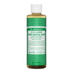 Pure Castlie Liquid Soap Almond, 240ml ekologisk