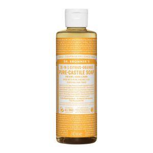 Pure Castlie Liquid Soap Citrus-Orange, 240ml ekologisk