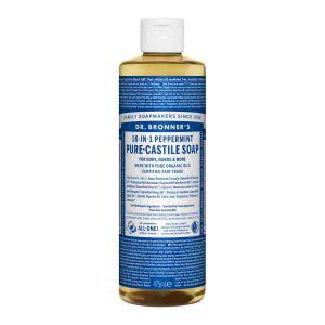 Pure Castlie Liquid Soap Peppermint, 475ml ekologisk