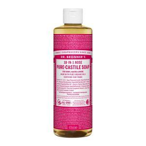 Pure Castlie Liquid Soap Rose, 475ml ekologisk