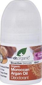Dr Organic Moroccan Argan Oil Deodorant, 50ml roll-on ekologisk