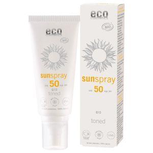 Tonad Solspray Q10 SPF 50, 100 ml ekologisk