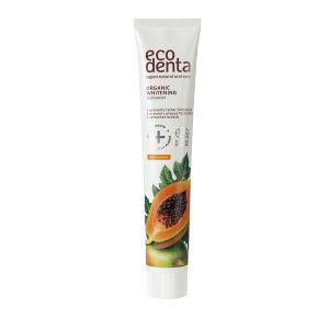 Tandkräm Whitening Papaya, 75 ml ekologisk