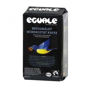 Eguale Kaffe Bryggmalet Mörkrost – Ekologiskt kaffe