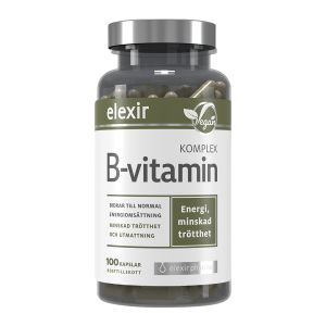 Elexir B-vitamin Komplex – med alla B-vitaminer