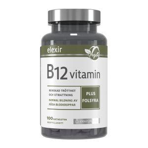 Elexir Pharma B12-Vitamin Vegan