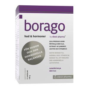 Elexir Borago, 72 kapslar, för hormonell balans