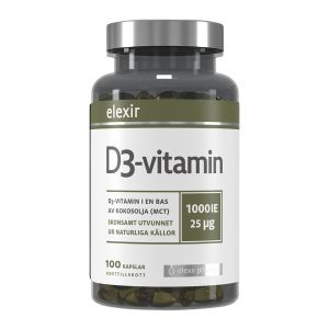 Elexir Pharma D3 Vitamin 1000IE