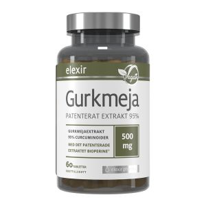 Gurkmeja 500 mg, 60 tabletter