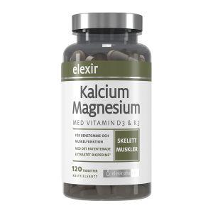 Elexir Pharma Kalcium/Magnesium 120 kapslar