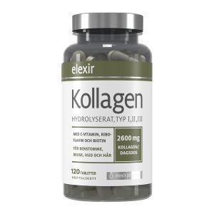 Elexir Kollagen Hydroliserat - med typ I, II & III