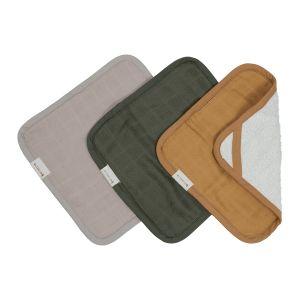 Wash Cloths Olive Garden, 3 pack ekologisk