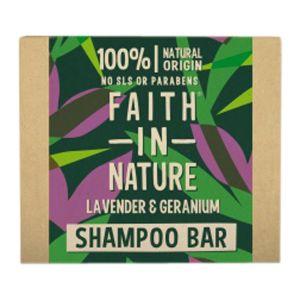 Schampobar Lavendel & Geranium, 85 g