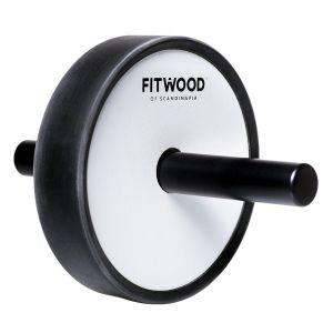 Kjerag Roller Exercise Wheel, Vit & svart