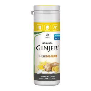 Ingefära Citron Tuggummi, 30 g
