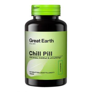 Great Earth Chill Pill – innehåller rosenrot