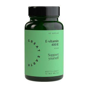 Great Earth E-vitamin Komplex 400 IE, 90 tabletter