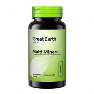 Great Earth Multi Minerals – Kosttillskott med mineraler