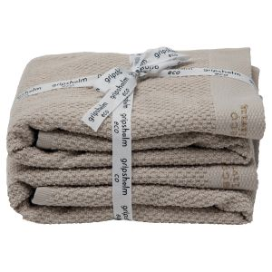 Handduk 2-pack, 40 x 60 cm ekologisk GOTS