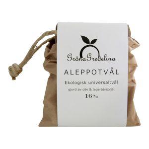 Aleppotvål 16%, 200 g