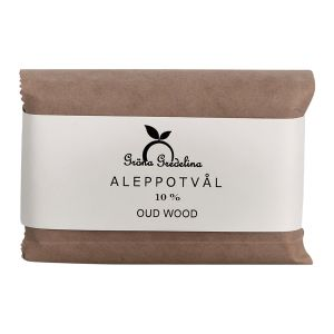 Aleppotvål 10% Oud Wood, 125 g