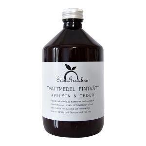 Flytande Fintvättmedel Apelsin & Ceder, 500 ml
