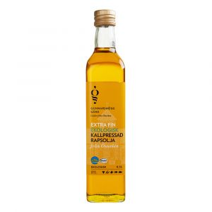 Extra Fin Kallpressad Rapsolja, 500 ml ekologisk
