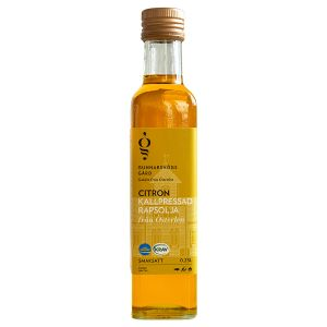 Extra Fin Smaksatt Rapsolja Citron, 250 ml ekologisk