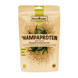 rawpowder hampaprotein 50-300g pulver ekologisk