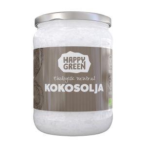 Happy Green Kokosolja Neutral, 500ml ekologisk
