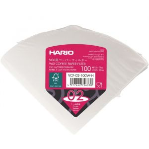 Hario V60 Pappers Filter 2 koppar – filter för handbryggt kaffe