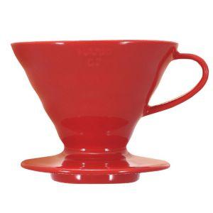 V60 Porslin Röd 2 koppar