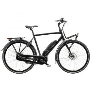 Batavus elcykel Harlem E-GO Herr (2019) Svart Matt 57cm