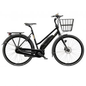 Batavus elcykel Harlem E-GO Unisex (2019) Svart Matt 53cm