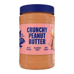 HealthyCo Jordnötsmör Crunchy – ekologisk jordnötssmör