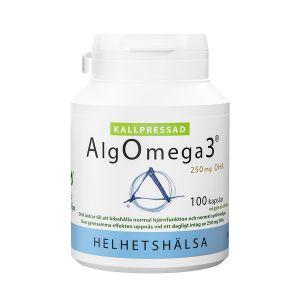 Helhetshälsa AlgOmega3 Kallpressad 500mg