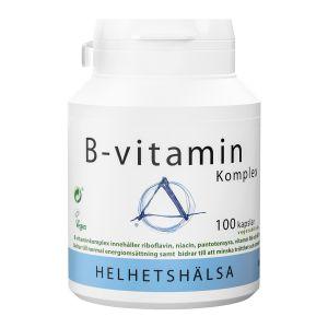 Helhetshälsa B-vitamin Komplex – kosttillskott med vitamin-b
