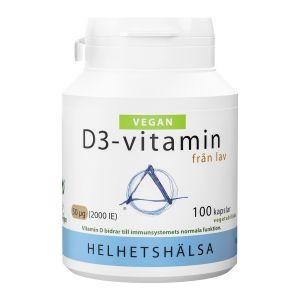 Helhetshälsa Vegan D3vitamin 50µg