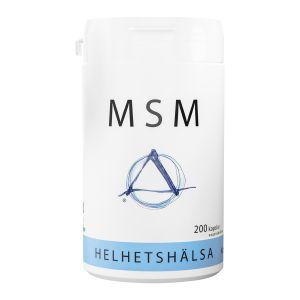 Helhetshälsa MSM, 200 kapslar – kosttillskott med MSM