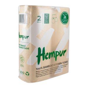 Hempur Hushållspapper – miljövänligt hushållspapper