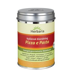 Pizza E Pasta Kryddblandning, 100 g ekologisk