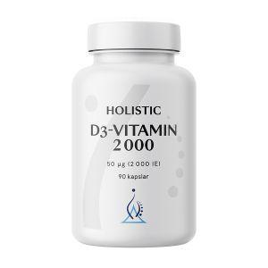D3-vitamin 2000 50mg, 90 kapslar