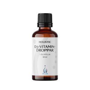D3-vitamin droppar i olja, 50 ml