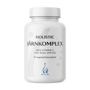 Köp Holistic Järnkomplex 90 kapslar på happygreen.se