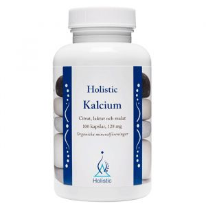 Kalcium 128 mg, 100 kapslar