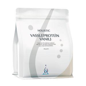 Holistic Vassleprotein Vanilj – Kosttillskott med vassleprotein