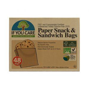 If You Care Komposterbara Smörgåspåsar – Miljövänliga smörgåspåsar